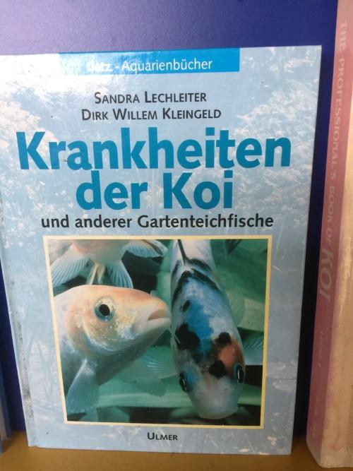Krankheiten der koi und anderer gartenteichfische for Gartenteichfische shop